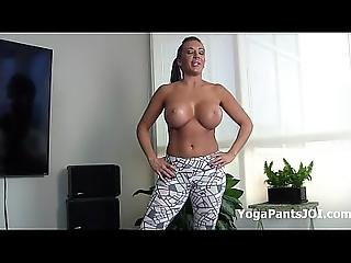 Alexis Rain In Her Sexy Yoga Pants