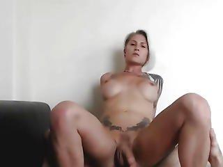 anal, dupa, blondynka, obciąganie, Para, głębokie gardło, palcówka, masturbacja, oral, shemale, ssanie, transseksualistka, trans, transseksualista, kamerka