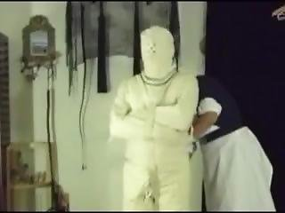 Straitjacket - Nurse Sister Matron Applies Medical Restraints