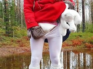 Rubber Boots, Puddles, And Diaper Pee