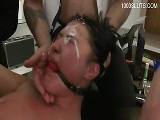 Young Pornstar Anal Squirt