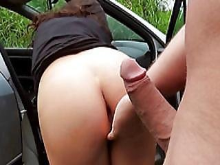 Euro Bombshell Niki Sweet Sweet Outdoor Fuck With A Stranger