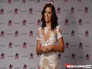 Dp Star 3 Brunette Russian Pornstar Adriana Chechik Deep Throat Blowjob