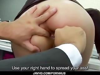 anal, blasen, boss, ficken, japanisch, sekretärin, spritzen