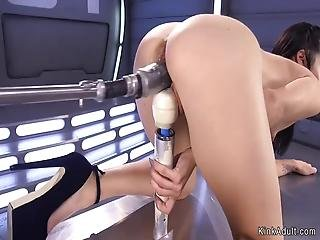 sexando, sexar con máquina, masturbación, solo, jugetes