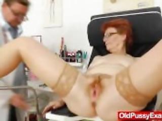Wifey Gyno With A Redhead Strumpet