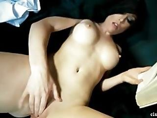 Sexy Blonde Nun Masturbating Hard To 3 Hard Orgasms%21