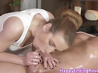 Erotic Massage With Wam European Masseuse