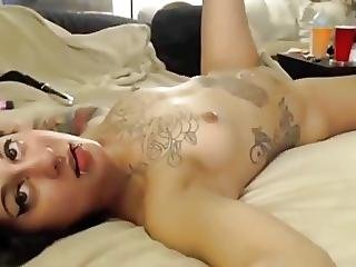 Tattooed Girl Takes A Good Dicking