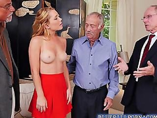 Super Hot Teen Raylin Ann Is Attracted By Old Men