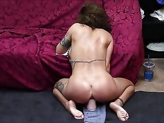 Compilation Of Sexy Milf Riding Dildos To Orgasm 4 Times