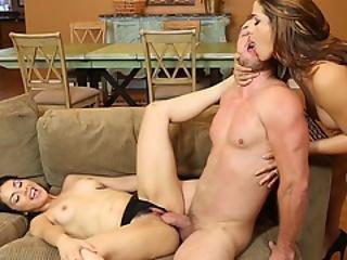 3some, большой член, минет, хардкор, мамаша, порнозвезда, Молодежь, тройка