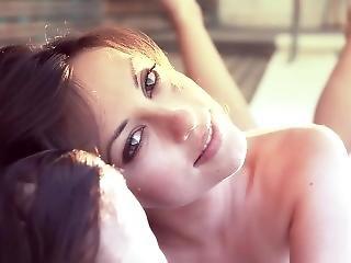 Lorena G - Beauty Model Hairy Pussy In Pool