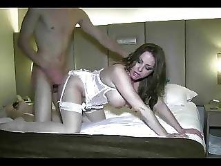 Spanish Milf With Awesome Tits