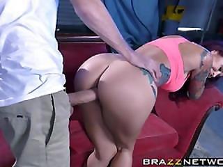 Hot Chick Monique Alexander Loves Riding His Huge Stiff Cock