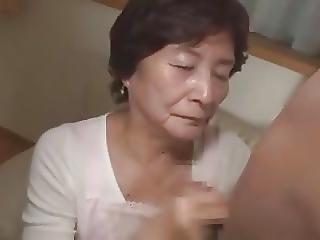 Babunia, Japonka, Dojrzała, Młoda