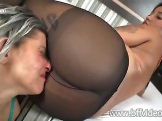 Megan Sweaty Pantyhose Dirty Farts