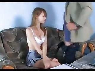 Teen Fucks Old Man
