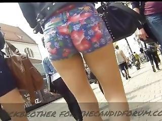 Candid Shorts Compilation