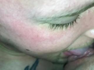 Wife Squirts Cum Down Husbands Throat And Neck