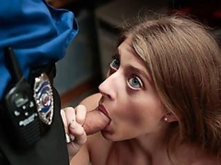 Alyce Anderson Steals And Gets A Fuck Punishment