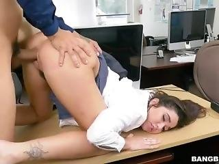 03/16/17 Office Squirt And Swallow