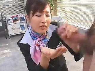 Asian-secretary-gives-blowjob