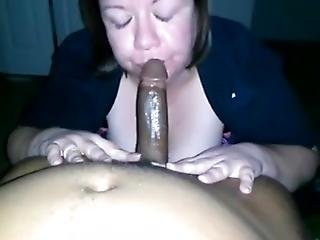 Chubby White Girl Swallow All His Bbc Sperm
