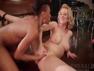 Bartender Cherry Torn Seduced By Stripper Nikki Darling