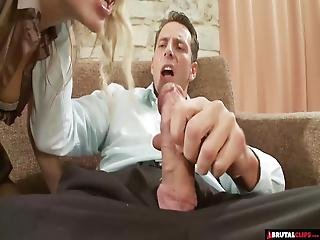 Cock Crazy Blonde Has Her Pussy Smashed