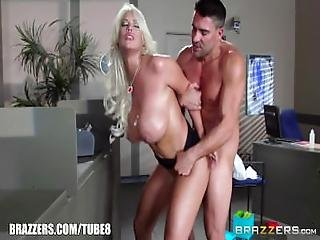 Brazzers   Cop Fucks Bridgette B Hard