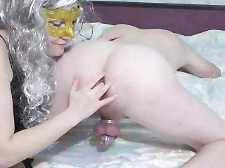 Chastity Milking After 12 Days Without Cum! Prostate Orgasm(femdom Milking)