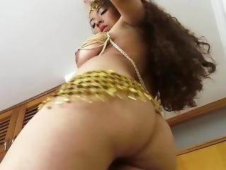 Nude Belly Dance All Natural Heavy Tits