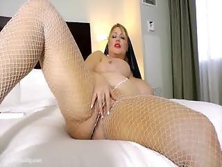 Bbw Nun Samantha 38g Drills Her Fat Pussy With Toy