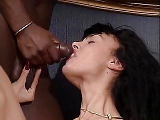 Ass, Ass Lick, Beaver, Facial, Hairy, Interracial, Lick, Massage