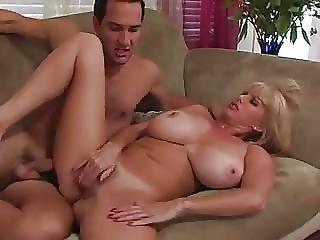 Mature Blond Mom Fucks