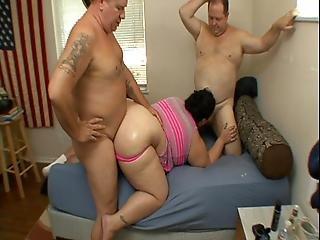 anale, bbw, sperma, ingoiate di sperma, dp, sburrata in faccia, punto di vista, sesso, ingoia, sesso a tre, roulette