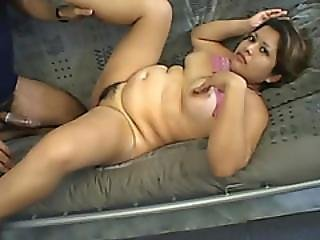 Pregnant Chick Riding Cock Like Cowgirl On Couch