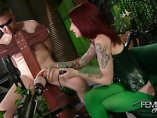 Poison Ivy Cum Machine