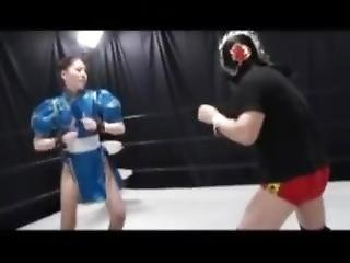 Chun Li Sexy Fight