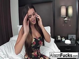 Alison Hires A Friend For The Evening Who Gives Her A Good Fuck