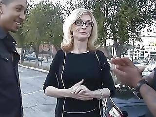 A Mature Woman With 2 Black Men Nh