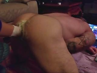 Wife Fisting My Tight Asshole