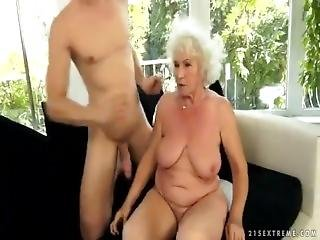 Grandma Norma Having Sex.