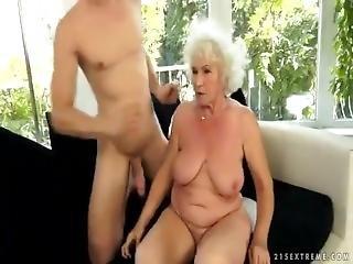 Grandma Norma Having Sex.