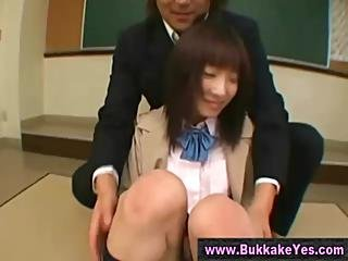 Japanese Bukkake Dildo And Facial