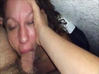 Experienced Milf Fucked In The Mouth