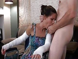 Cream, Creampie, Doggystyle, Funny, Heels, Home, Milf, Mother, Young