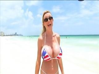 Morgan Leigh On The Beach