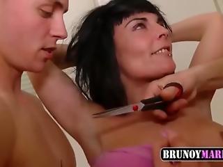 Morenaza Quiere Ser Muy Muy Zorra Con Dos Chicos De Brunoymaria